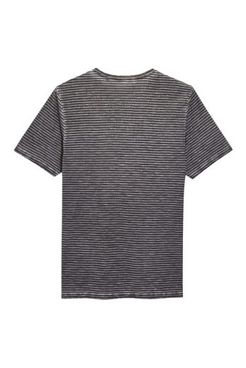 Next Over Dyed T-shirt With Stripes