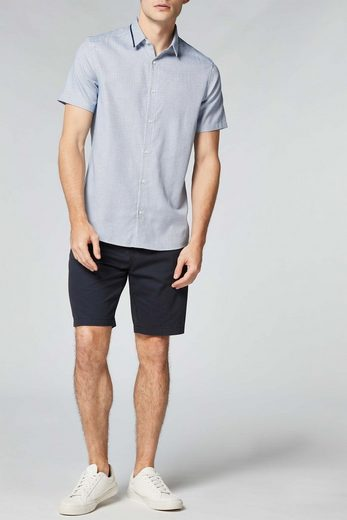 Next Short-sleeved Shirt With Contrast Collar