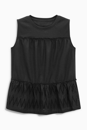 Next Sleeveless Top With Embroidery Step-