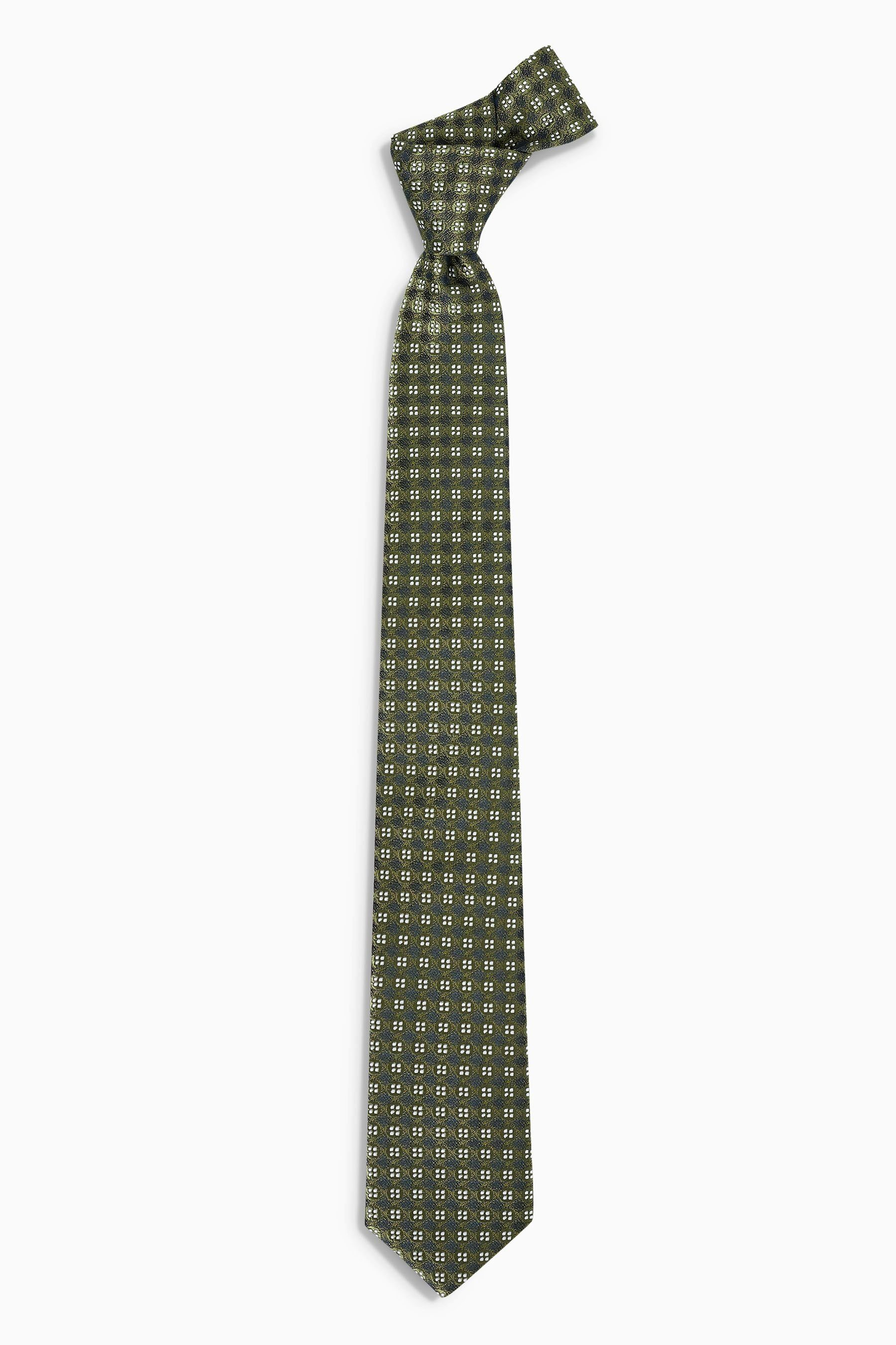 Next Gemusterte Krawatte