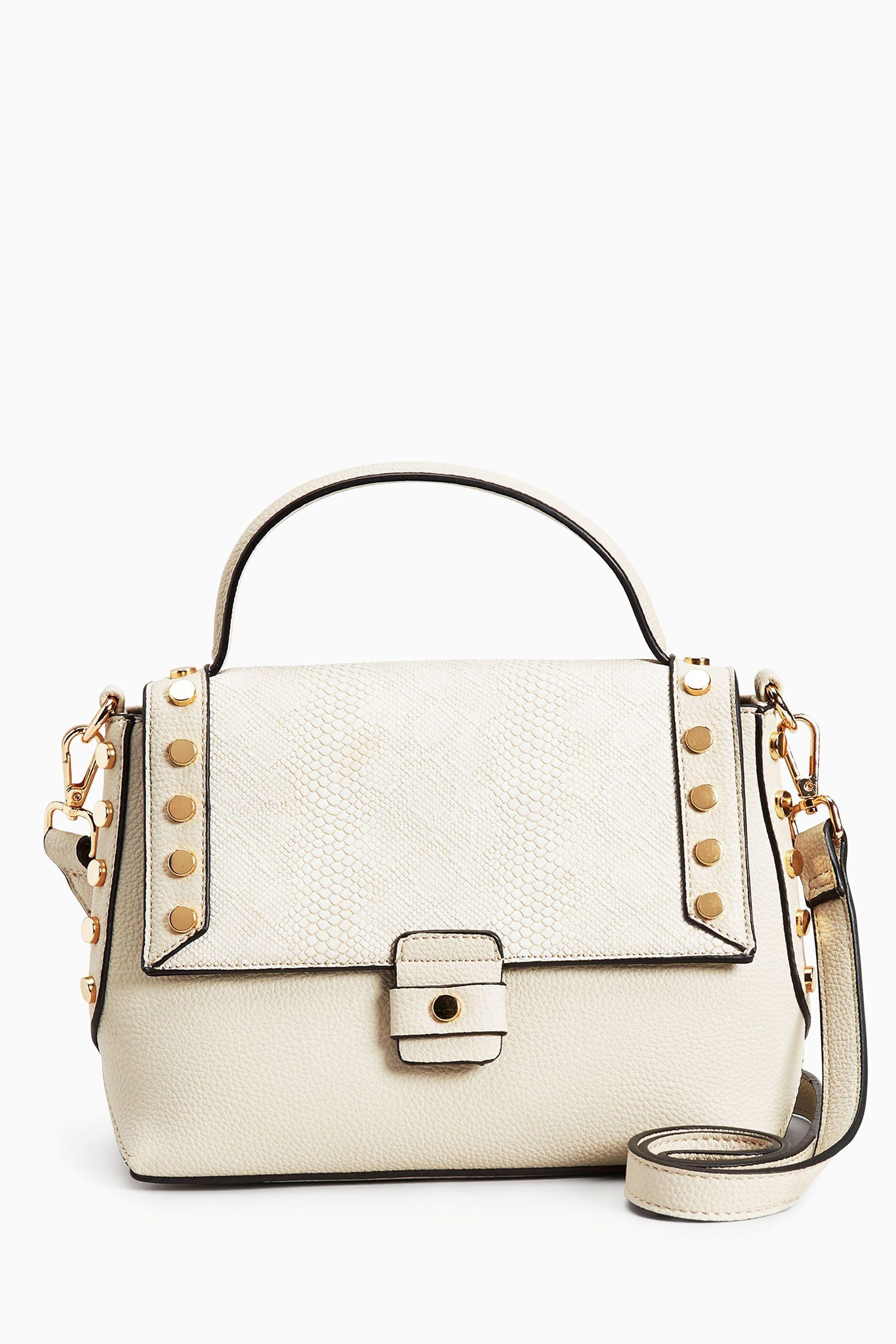 Next Handtasche mit Nietendetails