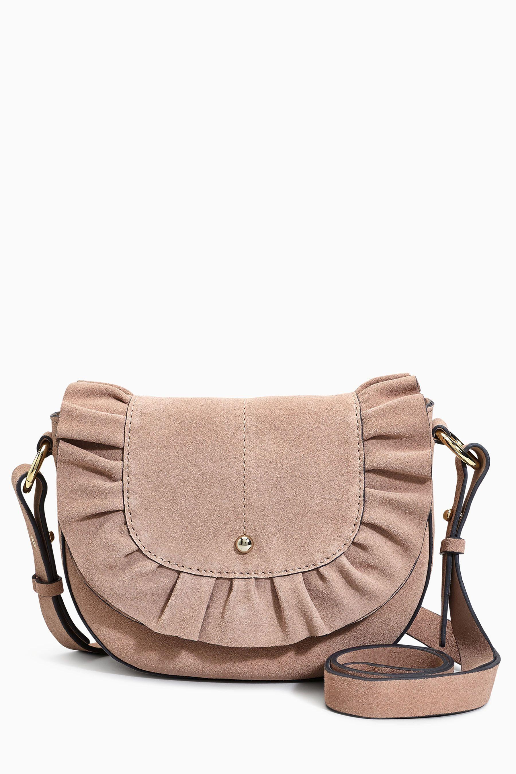 Next Saddle Bag mit Rüschen
