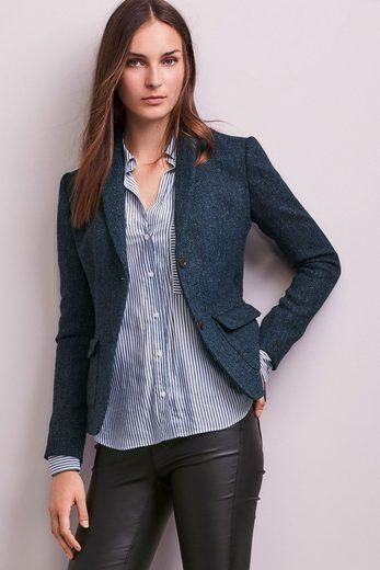 Next Jacke aus Harris-Tweed mit Fischgrätmuster