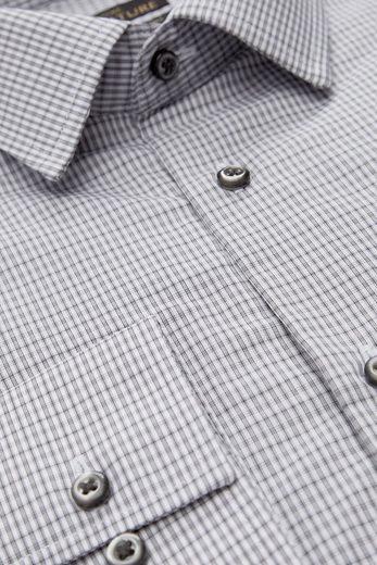 Next Kariertes Regular-Fit-Hemd aus ägyptischer Baumwolle