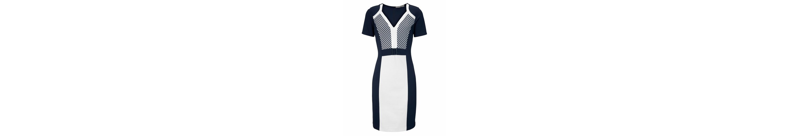 ASHLEY BROOKE by Heine Jerseykleid in Patchoptik Günstig Kaufen Limited Edition B06iiId