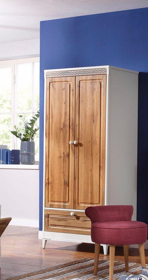 home affaire garderobenschrank lacie breite 80 cm. Black Bedroom Furniture Sets. Home Design Ideas