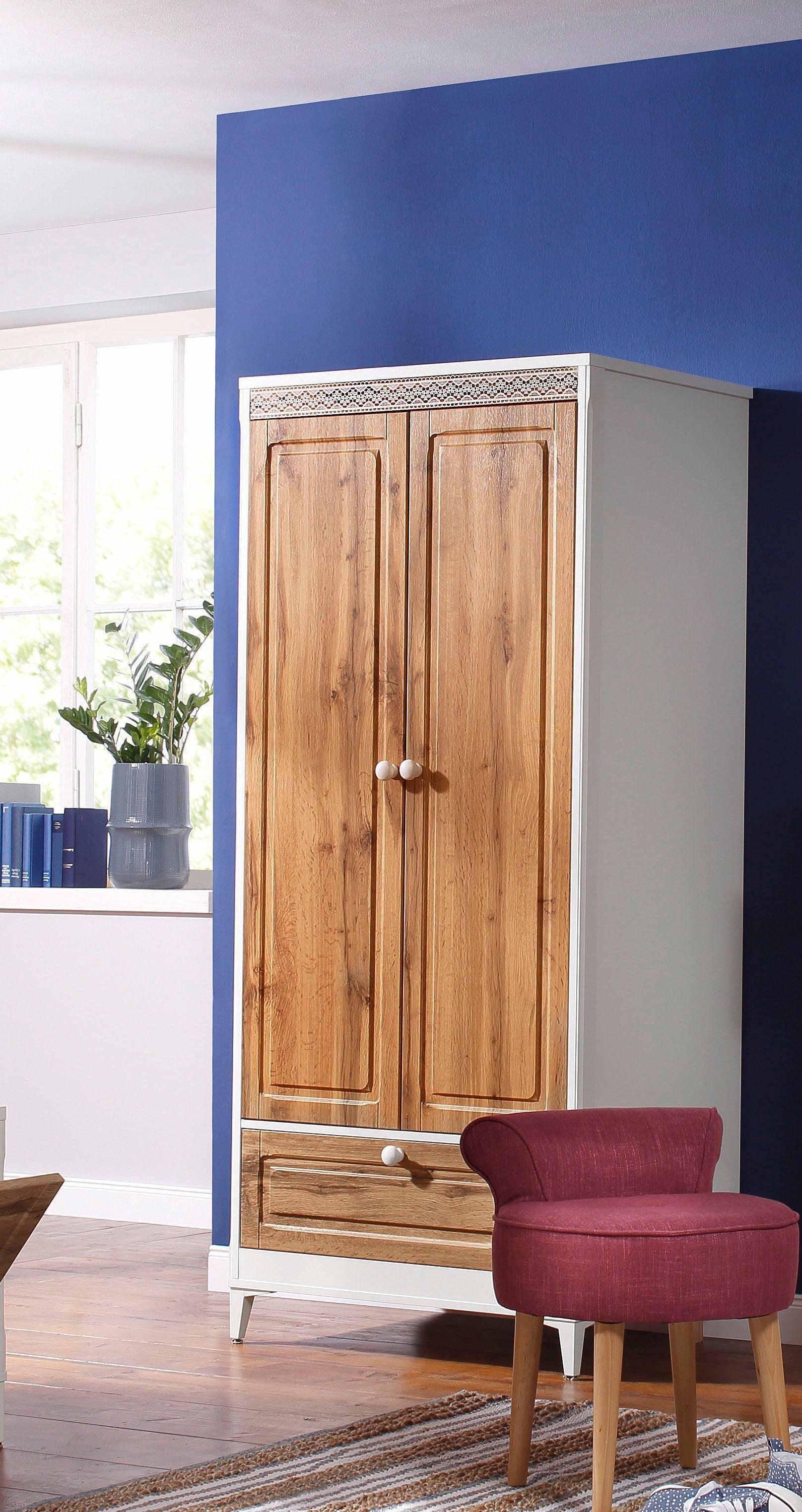 Home affaire Garderobenschrank »Lacie«, Breite 80 cm