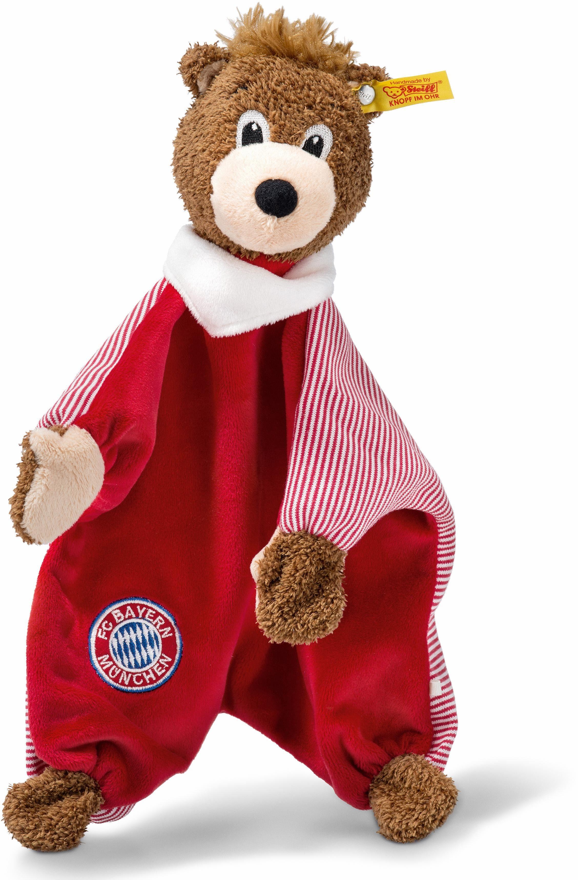 Steiff Schmusetuch, »FC Bayern Berni Schmusetuch«
