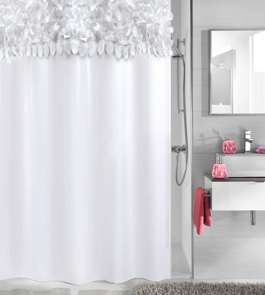kleine wolke duschvorhang falbala breite 180 cm otto. Black Bedroom Furniture Sets. Home Design Ideas