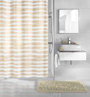 kleine wolke duschvorhang sandbeige kaufen otto. Black Bedroom Furniture Sets. Home Design Ideas
