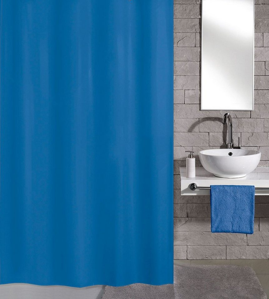 kleine wolke duschvorhang krokusblau breite 180 cm online kaufen otto. Black Bedroom Furniture Sets. Home Design Ideas
