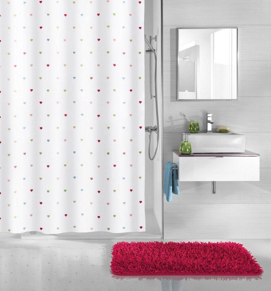 kleine wolke duschvorhang hearts breite 180 cm otto. Black Bedroom Furniture Sets. Home Design Ideas