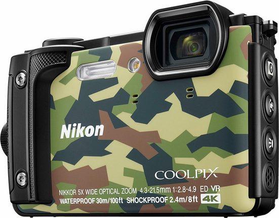 Nikon Coolpix W300 Kompakt Kamera, 16 Megapixel, 5x opt. Zoom, 7,5 cm (3 Zoll) Display