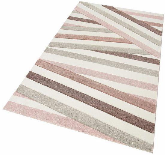 Teppich »Pastel 21641«, merinos, rechteckig, Höhe 13 mm