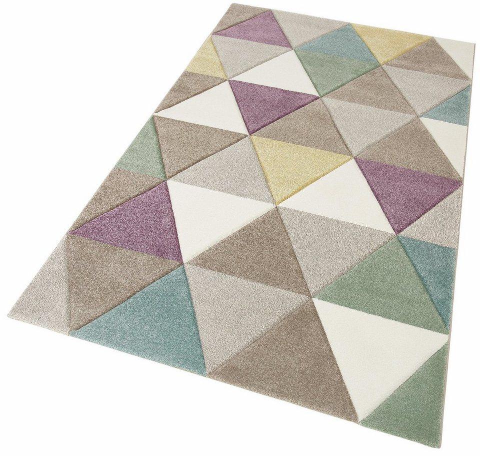 teppich pastel 21646 merinos rechteckig h he 13 mm. Black Bedroom Furniture Sets. Home Design Ideas