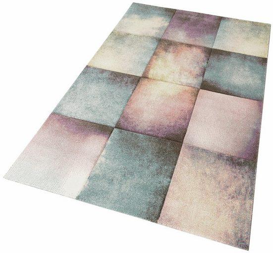 Teppich »Pastel 21680«, merinos, rechteckig, Höhe 13 mm