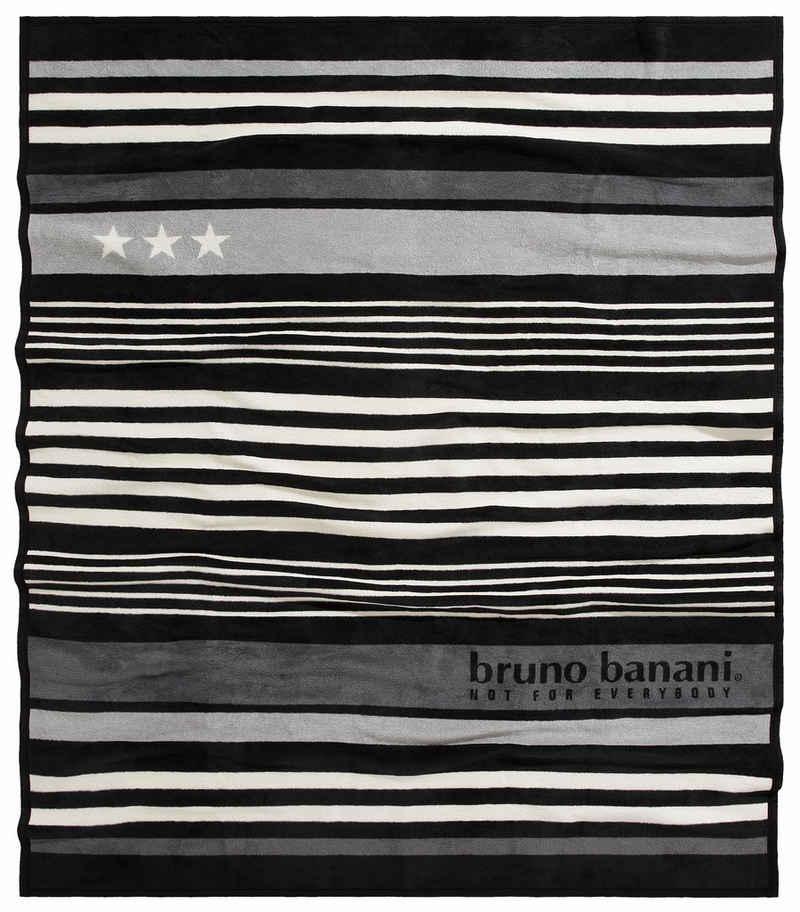Wohndecke »Brian«, Bruno Banani, mit kleinen Akzenten