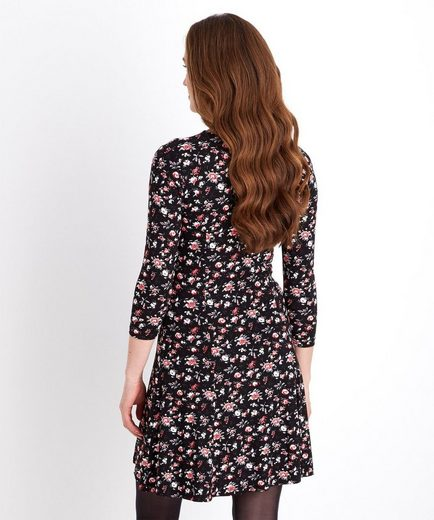 Joe Browns Druckkleid Joe Browns Women's Long Sleeved Floral Skater Style Dress