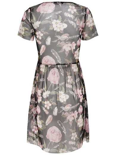 Blumiges Only Only Blumiges Kleid kurzes kurzes Kleid Only Blumiges a5XSEw