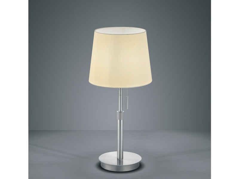 meineWunschleuchte LED Tischleuchte, Designer Tisch-Lampe Vintage Style, Höhenverstellbar, Schreibtischlampe Retro, mit Zug-Schalter