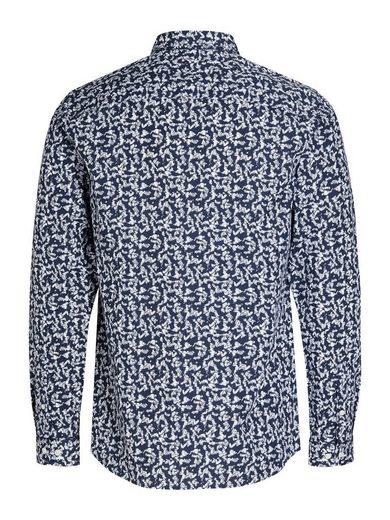 Jack & Jones Bedrucktes Langarmhemd
