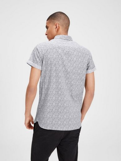 Jack & Jones Blumiges Kurzarmhemd