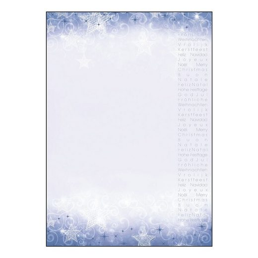Sigel Motivpapier »Christmas Greetings«