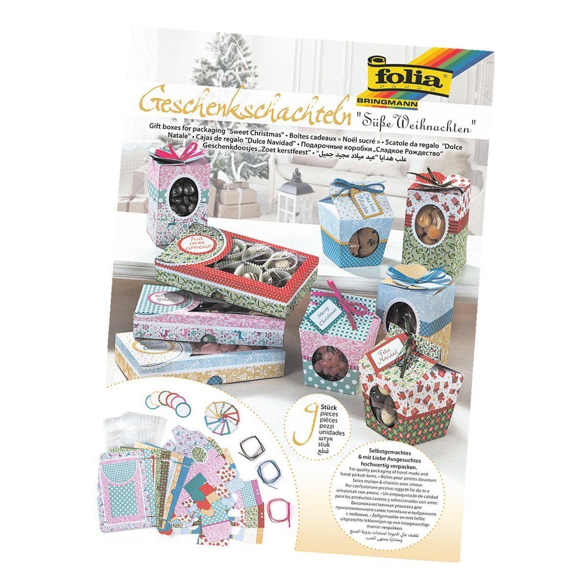 FOLIA Geschenk-Schachteln »Süßes Verpacken«