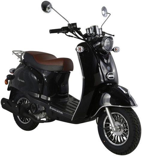 ALPHA MOTORS Motorroller »Venus«, 50 ccm, 45 km/h, schwarz