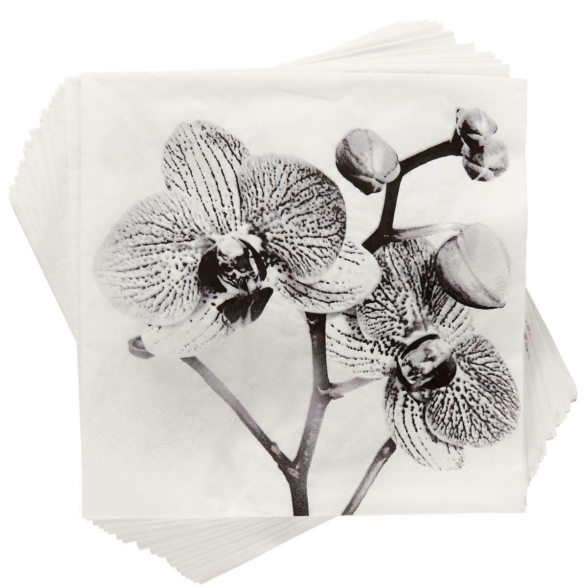 BUTLERS APRÈS »Papierserviette Orchidee«