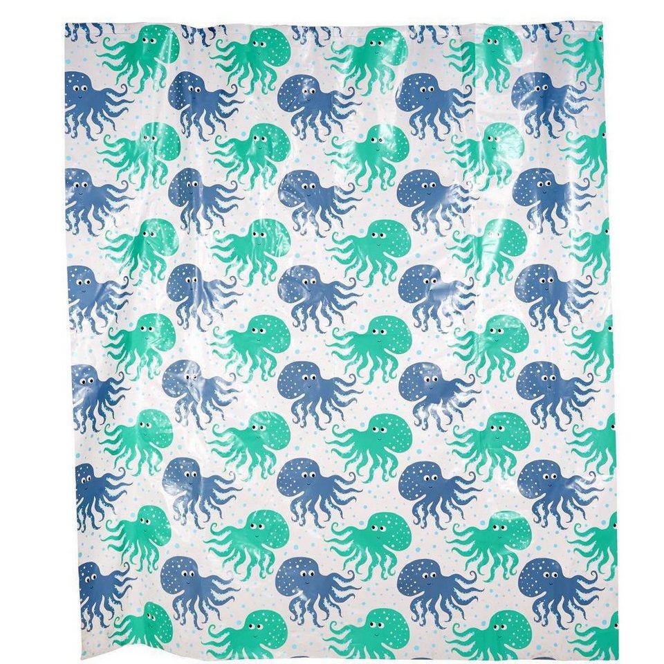 Butlers wet wet wet duschvorhang jellyfish otto for Butlers duschvorhang