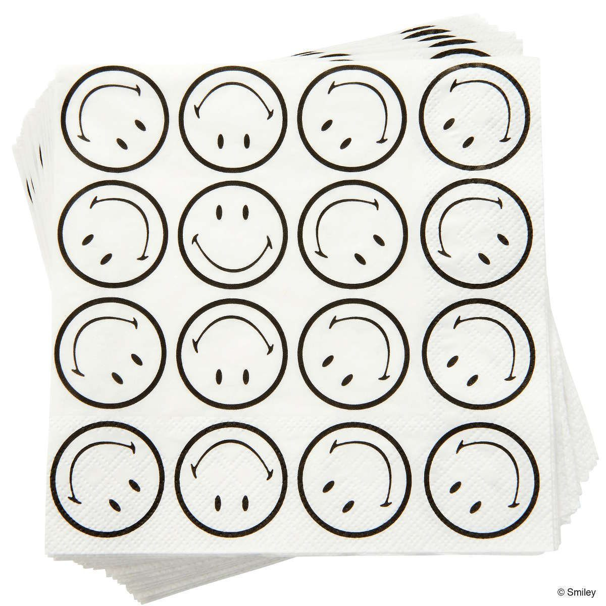 BUTLERS SMILEY »Papierserviette Smiley«
