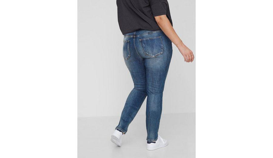Billig Original Freies Verschiffen 2018 Neue JUNAROSE Destroyed-Effekt- Jeans Verkauf Neuer Stile Auslass Niedriger Versand iLmMaWvtt