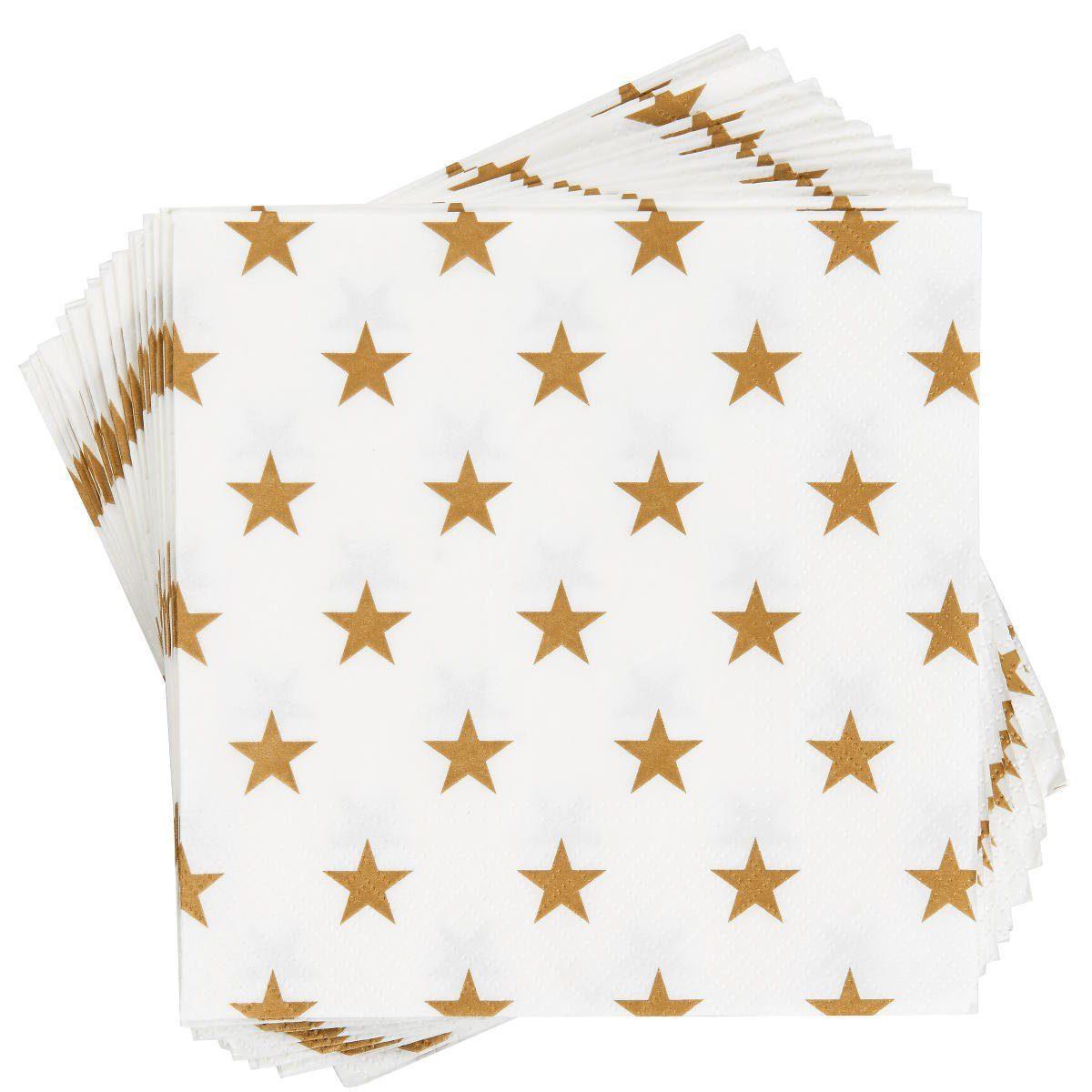 BUTLERS APRÈS »Papierserviette Sterne«
