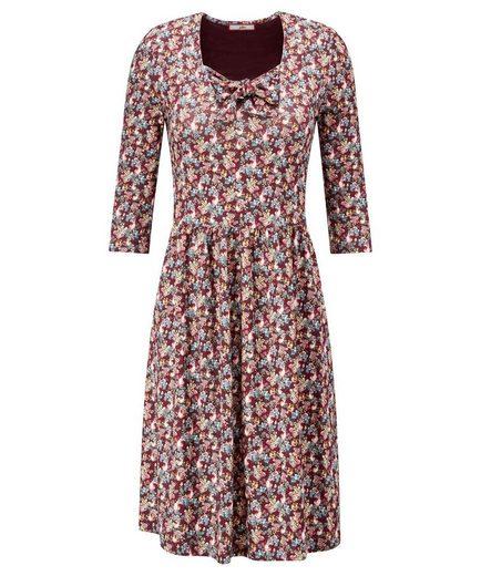 Joe Browns Druckkleid Joe Browns Women's 3/4 length Sleeved Floral Tea Dress
