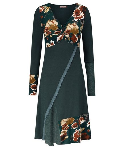 Joe Browns Druckkleid Joe Browns Women's Fitted Floral Dress with knot detail