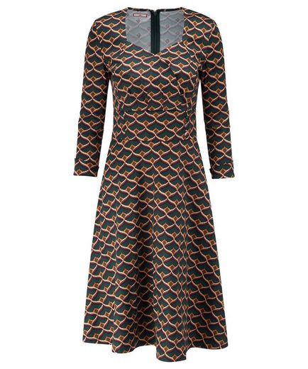 Joe Browns Druckkleid Joe Browns Women's Long Sleeved Patterned Everyday Knee length Dress