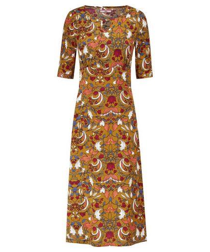Joe Browns Druckkleid Joe Browns Women's Vintage style Floral Dress with 3/4 length Sleeves