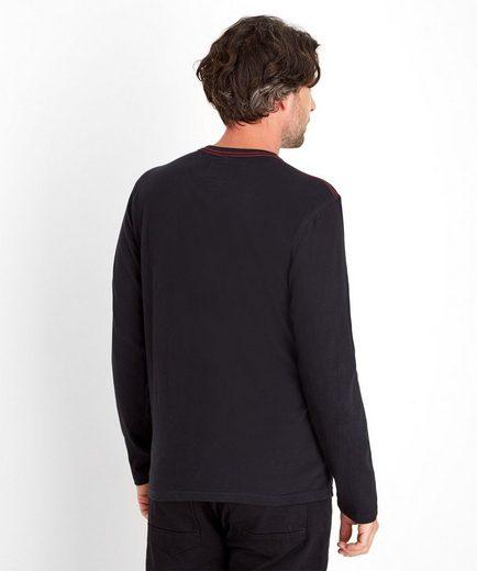 Joe Browns 2-in-1-Pullover Joe Browns Men's Long sleeved top with guitar graphic print, Mit langen Ärmeln
