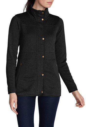 Eddie Bauer Heathered Fleece Jacket