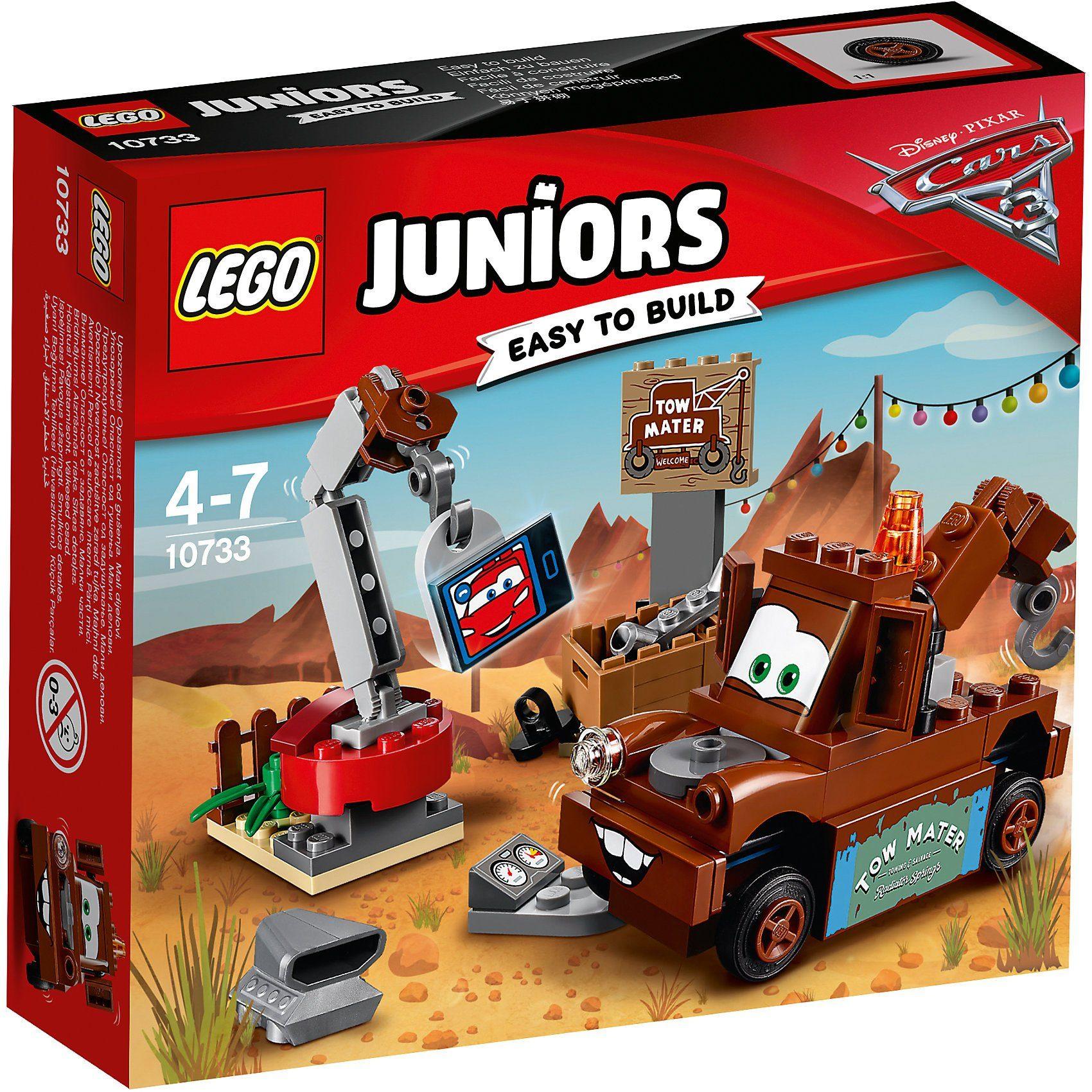 LEGO 10733 Juniors: CARS Hooks Schrottplatz