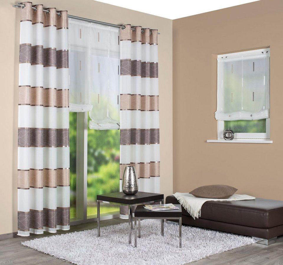 vorhang talwer home wohnideen kr uselband 1 st ck online kaufen otto. Black Bedroom Furniture Sets. Home Design Ideas