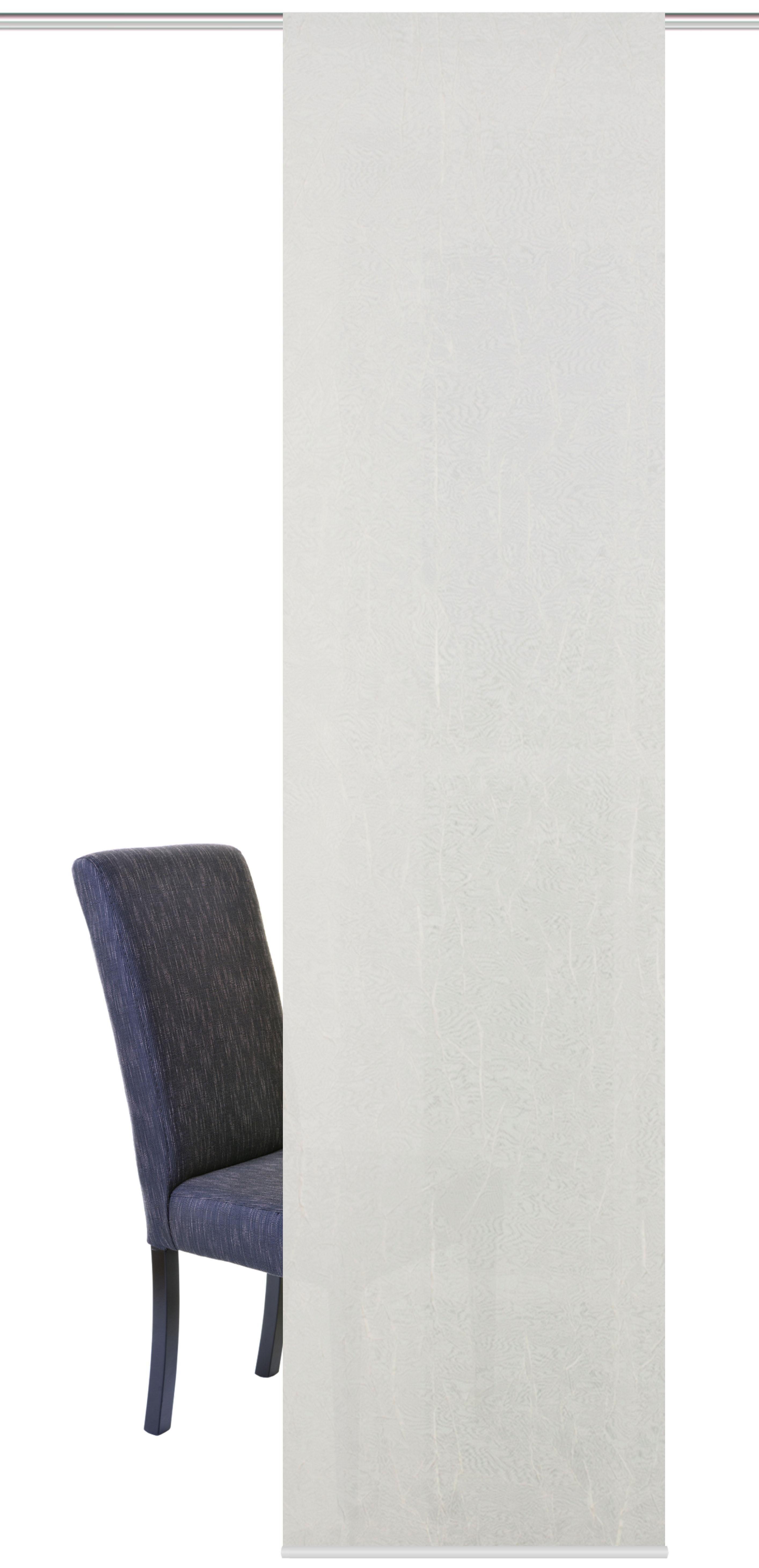 Schiebegardine »KASCHI«, HOME WOHNIDEEN, Klettband (1 Stück), inkl. Befestigungszubehör