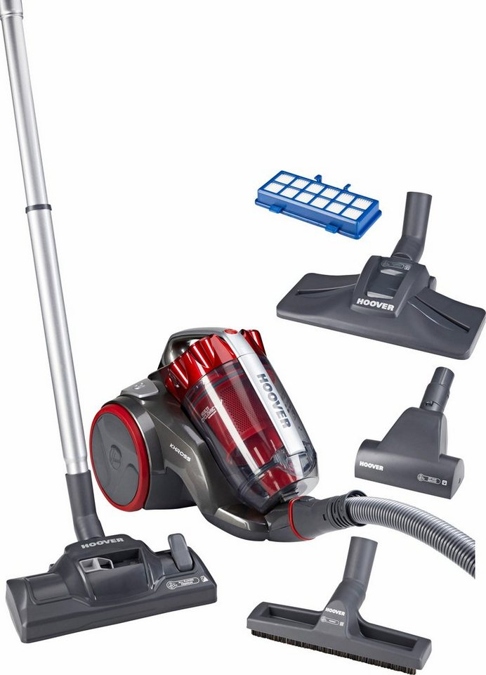 Hoover Bodenstaubsauger Khross KS50PET, 600 Watt