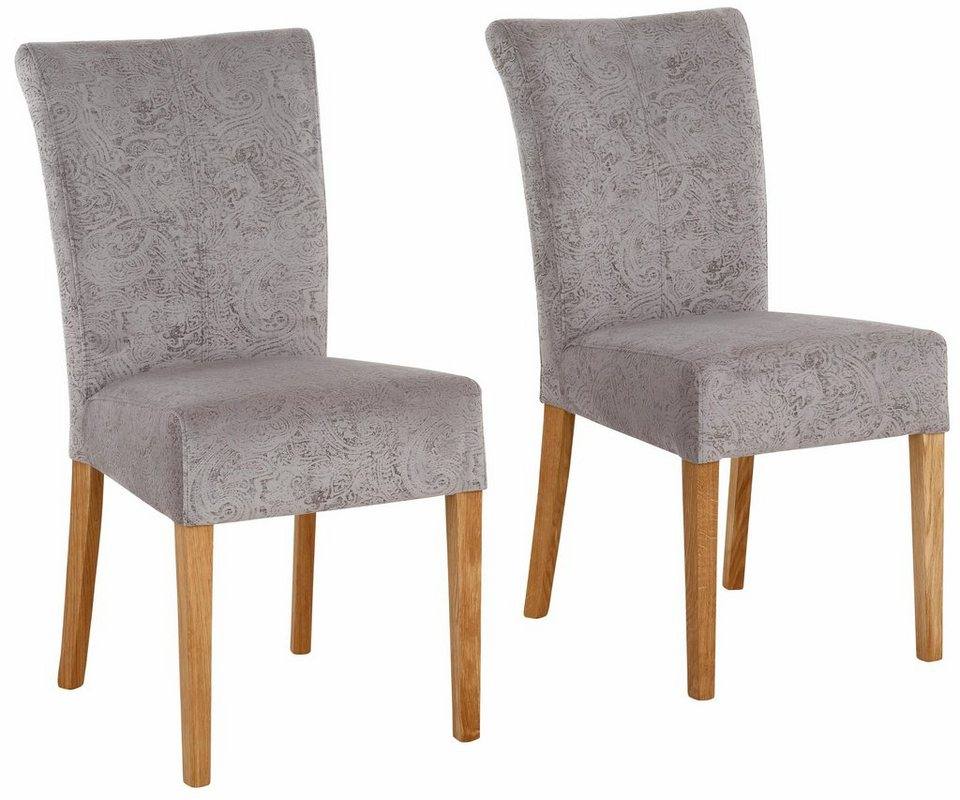 home affaire stuhl queen im 2er set bezogen mit web oder strukturstoff microfaser oder. Black Bedroom Furniture Sets. Home Design Ideas