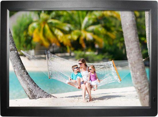 "Rollei »Gauguin« Digitaler Bilderrahmen (1366 x 768 Pixel, 4 GB, Integrierte Lautsprecher; 18.5"" (47 cm) TFT-LED Panel; Kontrast 1000:1; Slot für SD-, SDHC-, MMC-Speicherkarten)"