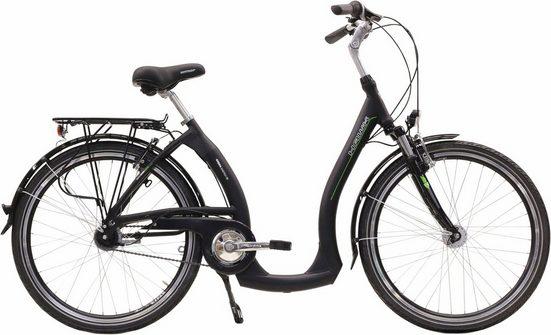 HAWK Bikes Cityrad »City Comfort«, 7 Gang Shimano Nexus Schaltwerk, Nabenschaltung