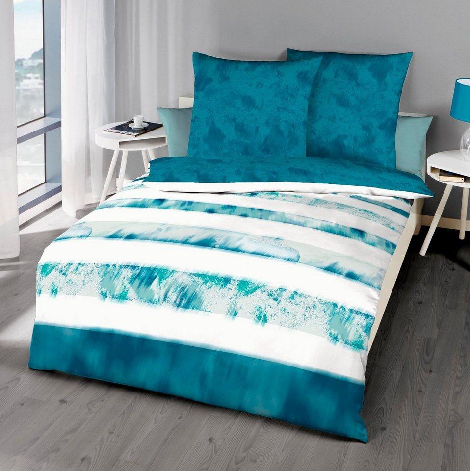 bettw sche kaeppel zoom mit streifen kaufen otto. Black Bedroom Furniture Sets. Home Design Ideas
