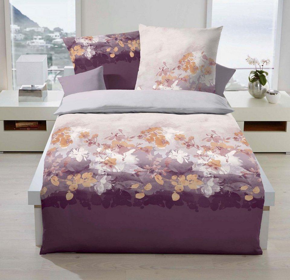bettw sche kaeppel flair mit blumen kaufen otto. Black Bedroom Furniture Sets. Home Design Ideas