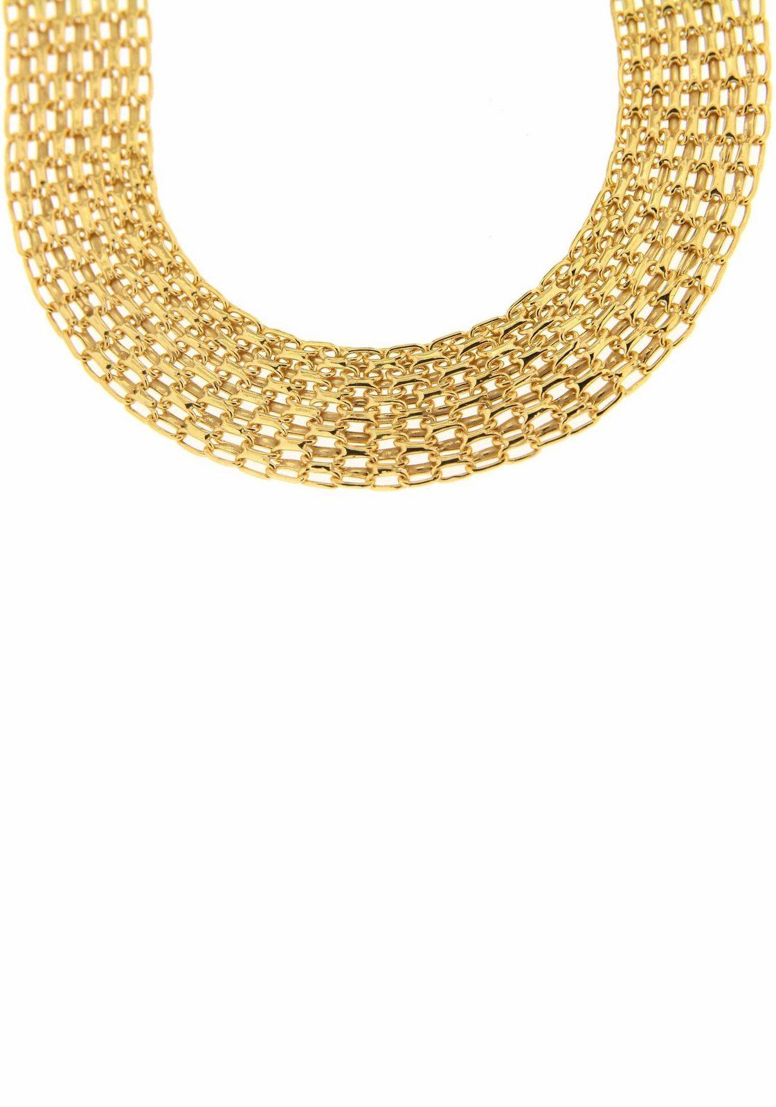Firetti Goldkette - broschei